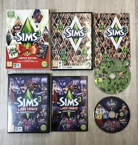 The Sims 3 Limited Edition Late Night Expansion PC Game