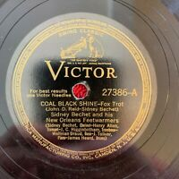 VICTOR 27386 Sidney Bechet and his New Orleans Feetwarmers 78rpm See Desc.
