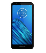 Motorola XT2005-5 Moto E6 with 16GB Memory Cell Phone (Unlocked) - Starry Black