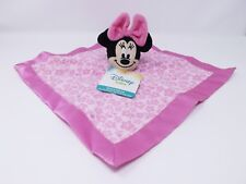 Disney Baby Minnie Mouse Pink Security Blanket Snuggle - New