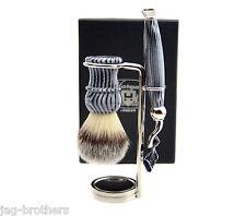 De lujo Afeitado Juego para Cepillo Menshaving,mach 3 maquinilla de afeitar,