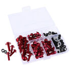 158x Fairing Bolts Kit Fastener Clips Screws for Motorcycle Sportbike 6 Colour