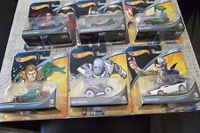 6 Packs Hot Wheels BATMAN Aquaman 2Face Freeze Joker Superman Vehicles