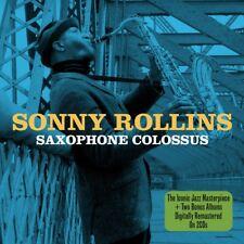 Sonny Rollins - Saxophone Colossus - Two Original Albums 2CD NEW/SEALED