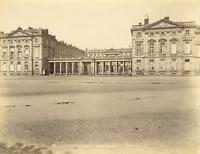 France, Compiègne, Château de Compiègne Vintage Albumen Print Tirage albuminé
