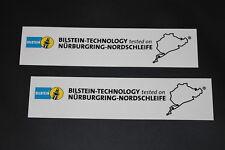 Bilstein Aufkleber Sticker Decal Federung Fahrwerk Supension Tested NÜRBURGRING