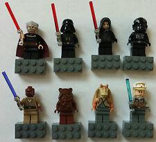LEGO® Star Wars™ 8 Magnet-Figuren: Mace Windu / Count Dooku / Darth Vader, ...