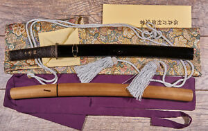 Japanese sword with koshirae