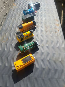 Thomas and Friends Trackmaster 7 motorised engines & Tenders SPARES OR REPAIRS