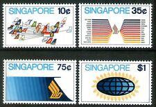Singapore 1973 Aviation set of 4 Mint Unhinged