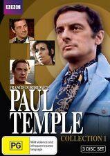 Paul Temple : Collection 1 Collectors Edition (DVD, 2010,3-Disc Set)New Region 4