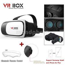 Virtual Reality VR Headset VR BOX 2.0 Goggles 3D Glasses Google Cardboard Remote