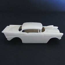 Jimmy Flintstone HO '57 Belair Pro Mod Resin Slot Car Body - Fits 4 Gear  #38