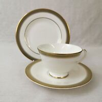 Royal Doulton Clarendon Tea Trio Cup Saucer and Plate Excellent Discontinued