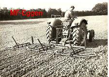 Original Massey Ferguson MF Eggen MF 722 MF 37 MF 664 von 1965 A4 Prospekt
