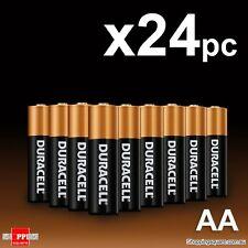 Joblot: . 24 x DURACELL AA Alkaline Batteries - - Battery Bateries..