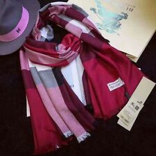 BURBERRY SCARF/SHAWL 100% CASHMERE COMES WITH BAG AND TAGS