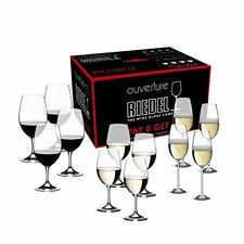 Riedel Ouverture (Red & White Magnum Wine Glass, Champagne Flute) set of 12