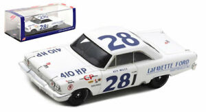Spark US112 Ford Galaxie #28 Nascar Riverside 1963 - Ken Miles 1/43 Scale