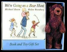 NEW We're Going on a Bear Hunt Book and Toy Gift Set by Michael Rosen