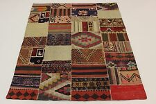 look antique nomades Kelim patchwork très bien PERSAN TAPIS tapis d'Orient