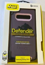 "NEW Otterbox Defender Case W/Clip for Samsung Galaxy S10+ PLUS (6.4"") - Purple"