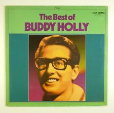 """12"""" LP-Buddy Holly-The Best of Buddy Holly-b974-Slavati & cleaned"""