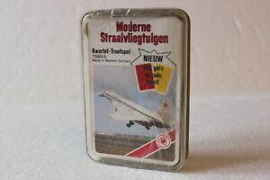 Holländisches Quartett ASS 7580/5 moderne straalvliegtuigen Kwartet Troefspel