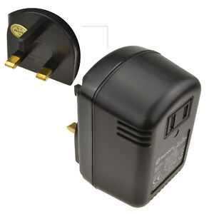 Step Down Voltage Converter 240 - 120V ( 45VA) US To UK Plug [002414]