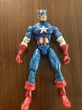 Marvel Legends Classic Captain America 6? Loose figure Series 1 Toybiz 2002 RARE