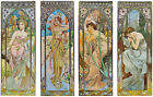 Times of the Day, by Alphonse Mucha