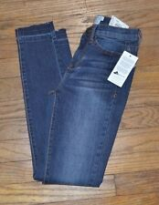 Mudd FLX STRETCH Mid Rise Ankle Skinny Dark Denim Jean Juniors Jeans