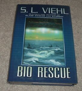 2004 BIO RESCUE S L Viehl Interplanetary Space Science Fiction HC/DJ