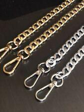 Metal Purse Chain Strap Handle Shoulder Crossbody Bag Handbag Replacement UK