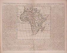 Antica mappa, carta de l'afrique