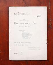 KODAK 1895 PRODUCT CATALOG (NO COVER)/cks/210481