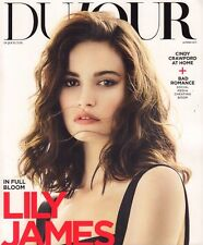 Dujour Summer 2017 Cindy Crawford, Lily James 052017DBE