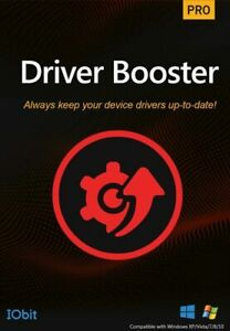 IOBit Driver Booster Pro 8 Lifetime Upgrades [Digital Delivery Only]