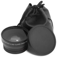 52MM 0.45x Fisheye Wide Angle Macro Lens w/Bag for Nikon D3200 D3100 D5200 D5100