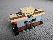 Lego Train Carriage Car Coach Caboose Truck + mini figure tools Custom MOC