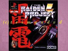 PS1 _ The Raiden Project _ CD im guten Zustand _ 1000 weitere Spiele im SHOP