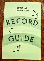 Wisconsin Record Guide May 8 1961 Ricky Nelson Del Shannon Linda Scott C Francis