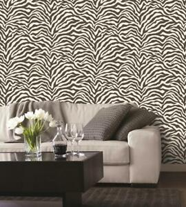 5,63€/qm / Tapete Smita G 67491 Tapete Zebra Galerie Animal Print Natural FX