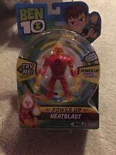 BEN 10 HEATBLAST DELUXE Power Up FIGURE w/ Lights & Sounds Kids Toy Gift New