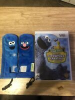 Nintendo Wii Sesame Street Cookie's Counting Carnival The Video Game Plus Covers