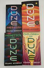 4 Book Set DUNE Series Paperback by Frank Herbert