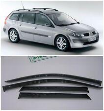 For Renault Megane Wagon 2002-2008 Window Visors Rain Guard Vent Deflectors