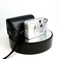 Fujifilm FinePix A403 2.1MP Digital Camera - Silver with Case - Great++ -#671