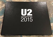 U2 Limited Edition Commemorative Book - 2015 Innocence & Experience Tour