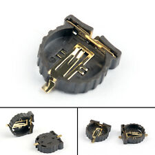 20Pcs Cr1220 Smd 3V Battery Socket Connnector Holder Case Box Gold Plated Usa